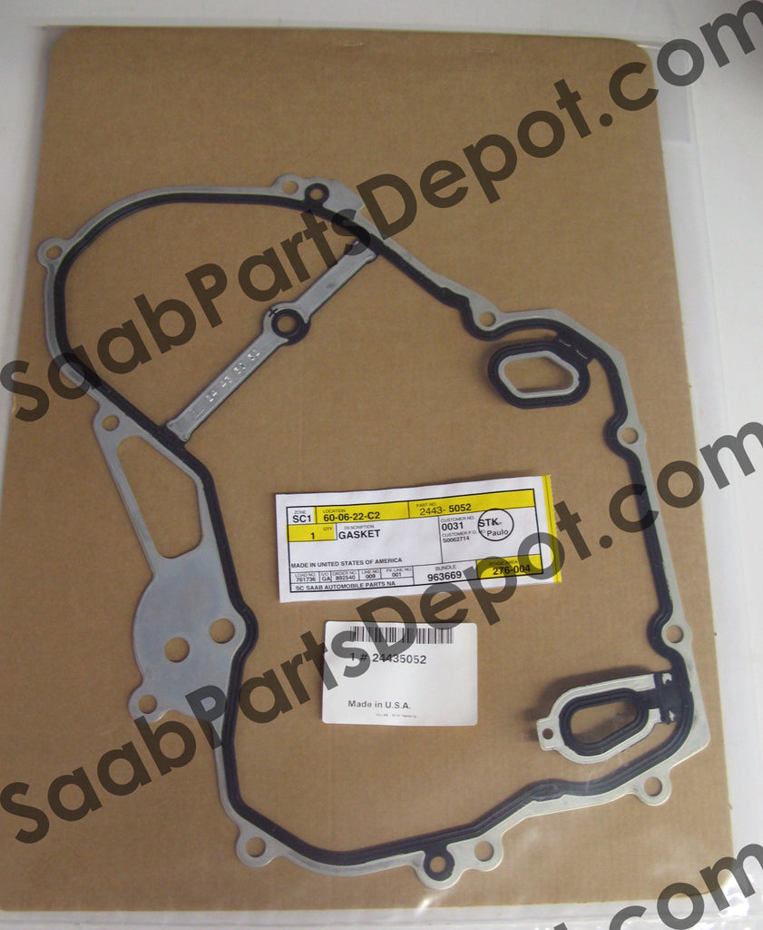 Timing Cover Gasket (24435052) - 9-3, 9-5 - Saab Parts Depot