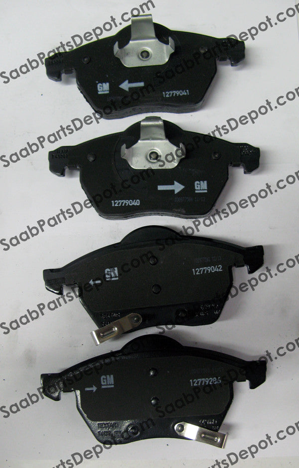 Disc Brake Pad Set - Front (93192749) - Saab Parts Depot