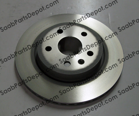 Saab Genuine Disc Brake Rotor - Rear (315mm) (13502199) - 9-5 - Saab Parts Depot