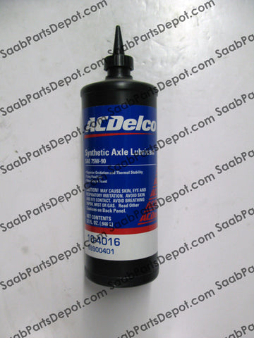 Synthetic Axle Lubricant - AC Delco (88900401) - Saab Parts Depot