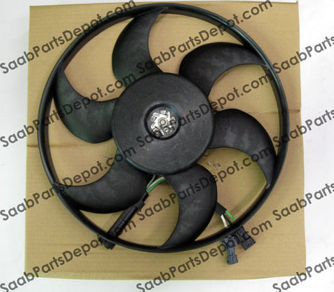 Saab Genuine Fan Unit (4877015) - 9-3, 900, 9000 - Saab Parts Depot