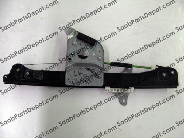 Window Regulator - Rear Driver Side (12763708) - USED - Saab Parts Depot