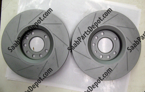 Saab Genuine Front Brake Rotors (5084769) - 9-3 Viggen - Saab Parts Depot  - 1