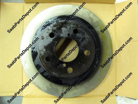 Saab OE Rear Brake Rotor - (32009802) - 9-2X - Saab Parts Depot  - 1