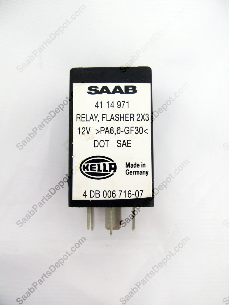 Flasher Relay (4114971) - 9000 - Saab Parts Depot  - 1