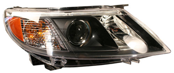Headlight Assembly - Passenger Side (Halogen) (12843639) - 9-3 - Saab Parts Depot
