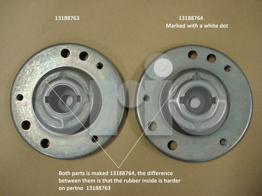 **FREE GROUND SHIPPING** Genuine Saab Front Support bearing.(9-3 XWD) 2006-2011)[13188764]