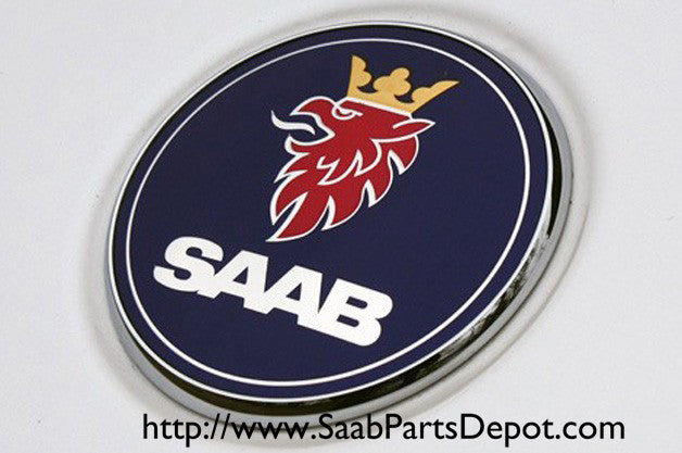 Genuine Saab Trunk Emblem (5289889) - 1999-2003 9-3 - Saab Parts Depot