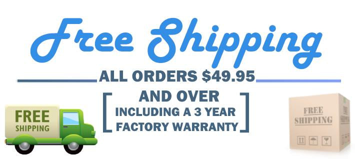 Free Ground Shipping On Orders Over $49.95