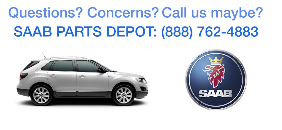 Call Saab Parts Depot at (888) 762-4883