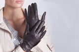 Emma - Women's Cashmere Leather Gloves