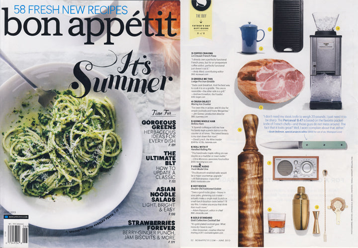 bon appétit magazine - June 2103