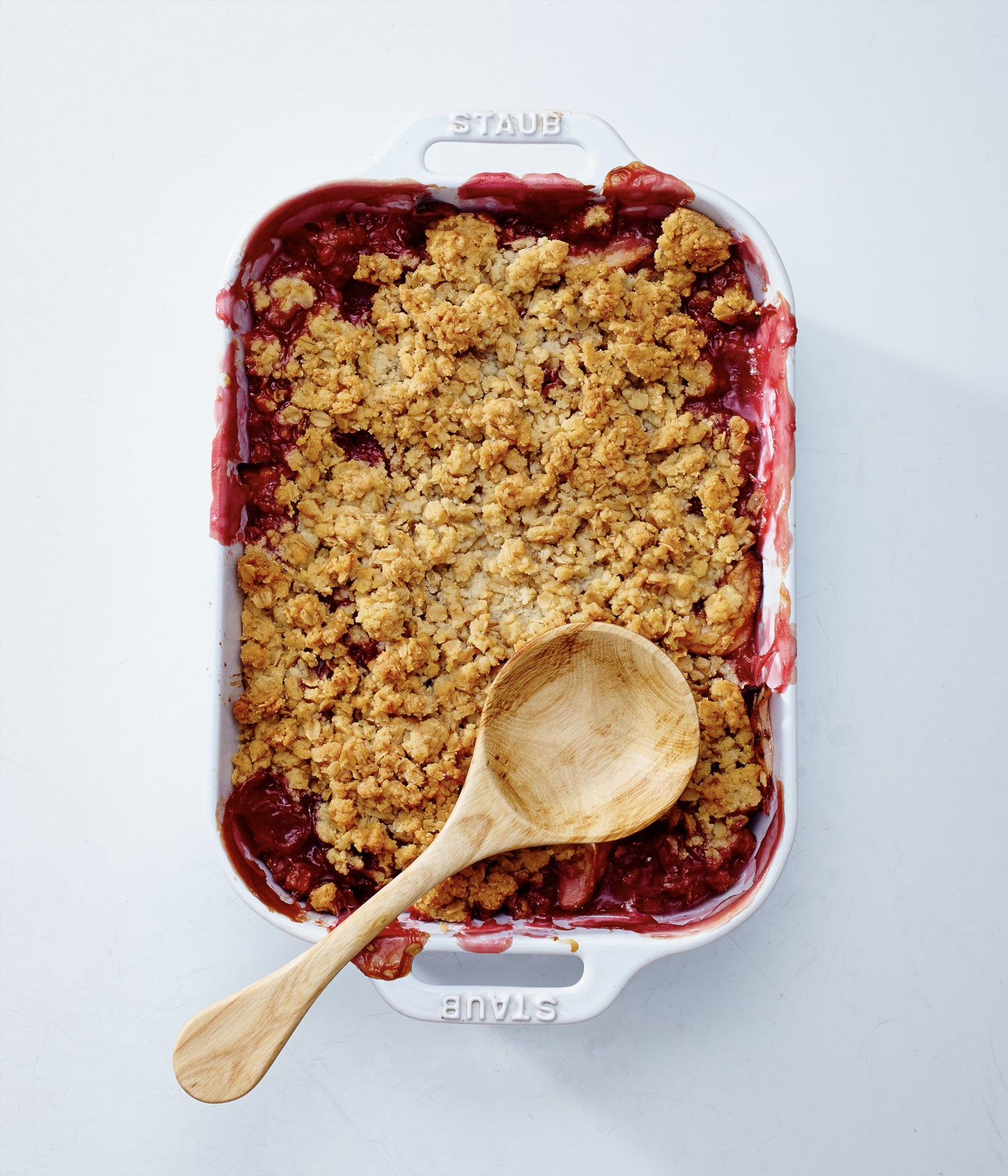 HG | Raspberry and Apple Crumble