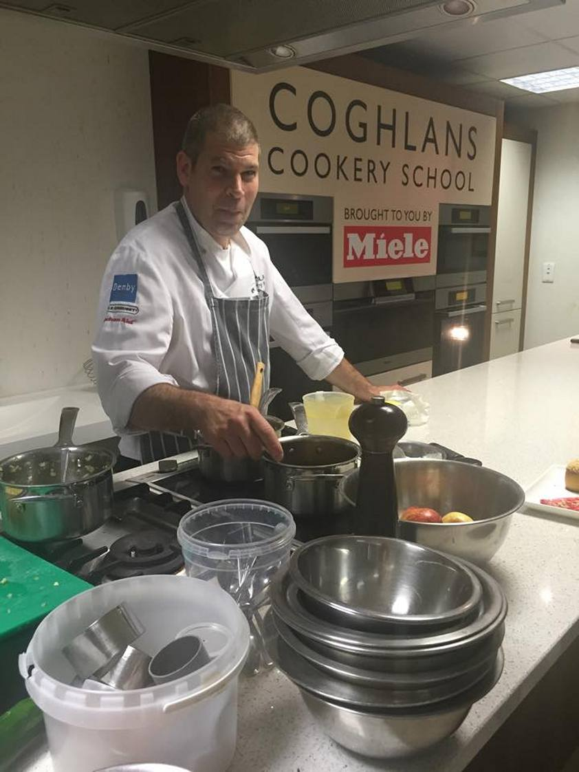 Simon Lilley, MasterChef of Great Britain at Coghlans Cookery School