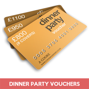 Dinner Party Gift Vouchers