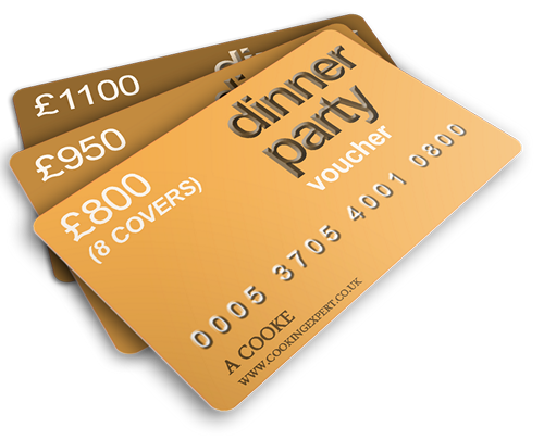 Dinner Party Gift Vouchers From Coghlans Cookery School