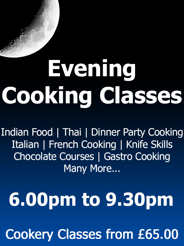 Evening Cookery Classes