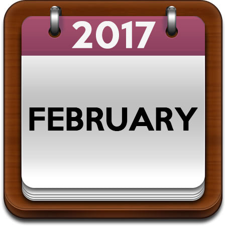 February 2017 Cooking Classes