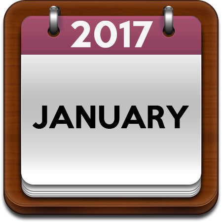 January 2017 Cooking Classes