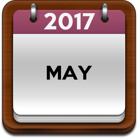 May 2017 Cooking Classes
