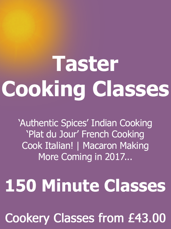 Taster Cookery Classes