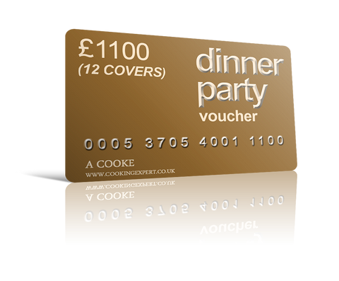 Dinner Party Voucher for 12
