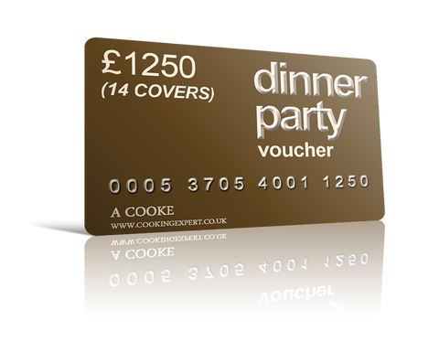 Dinner Party Voucher for 14