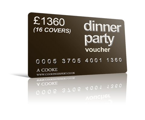 Dinner Party Voucher for 16