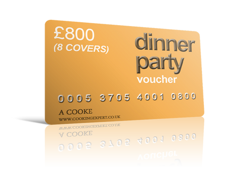 Dinner Party Voucher for 8