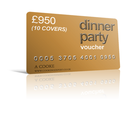 Dinner Party Voucher for 10