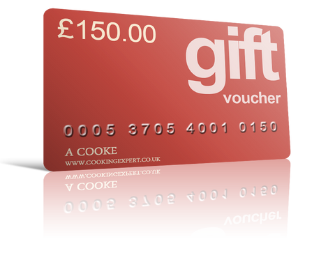 £150.00 Gift Voucher From Coghlans Cookery School