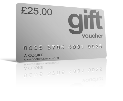 £25.00 Gift Voucher From Coghlans Cookery School