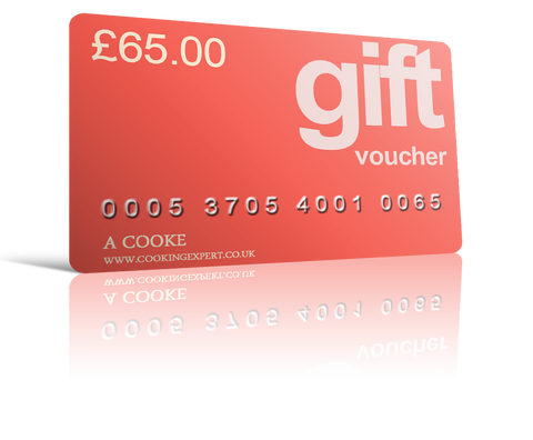 £65.00 Gift Voucher From Coghlans Cookery School