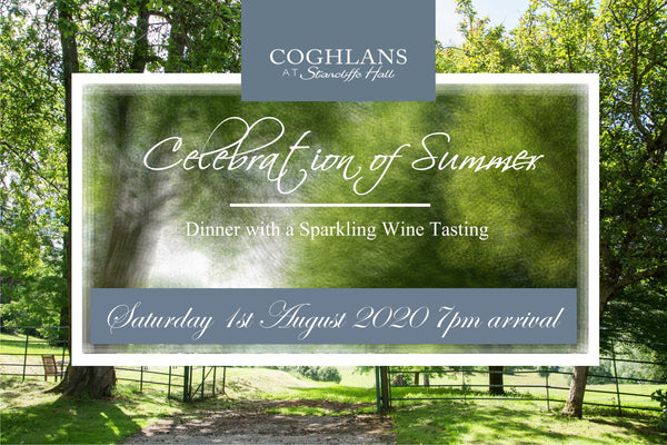 Celebration of Summer Dinner & Sparkling Wine Tasting Date TBA