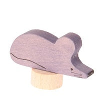 Gray Mouse Deco Figure