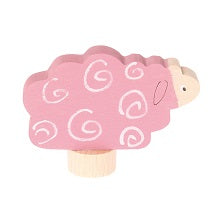 Pink Sheep Deco Figure