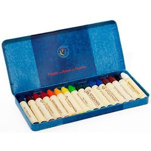 Stockmar Wax Stick Crayons - 16 colors standard assortment