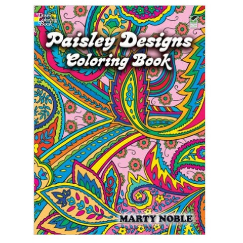 Coloring Book - Paisley Designs (paperback)