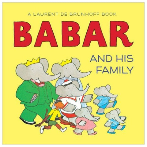 Babar and His Family (boardbook)