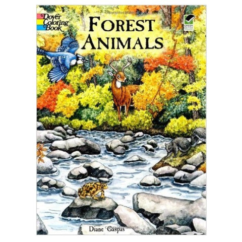 Coloring Book - Forest Animals (paperback)