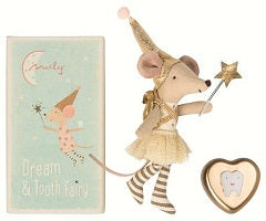 Tooth Fairy, Big Sister Mouse with Metal Box- Maileg