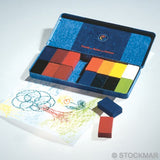Stockmar Wax Block Crayons - 16 colors standard assortment