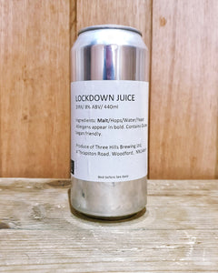 Three Hills Brewing - Lockdown Juice