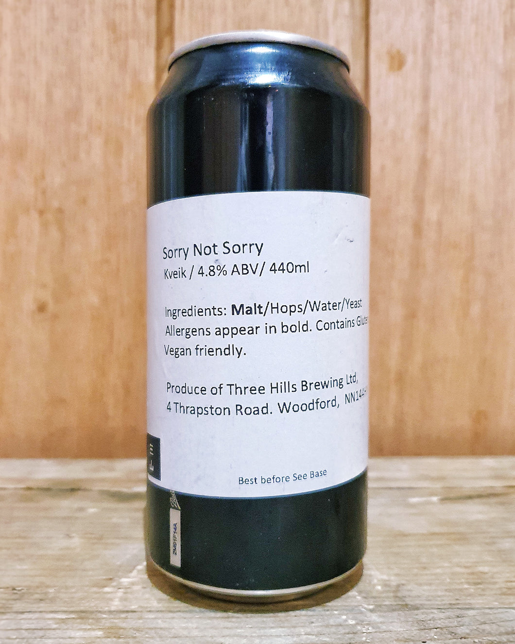 Three Hills Brewing - Sorry Not Sorry