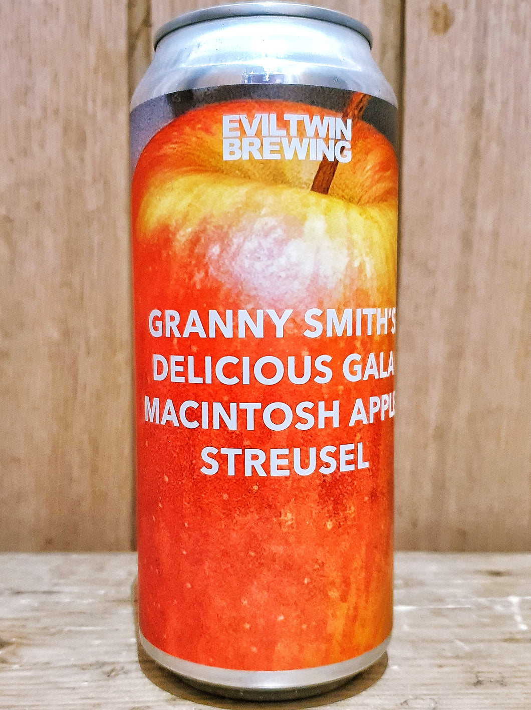 Evil Twin - Granny Smith's Delicious Gala Macintosh Apple Streusel
