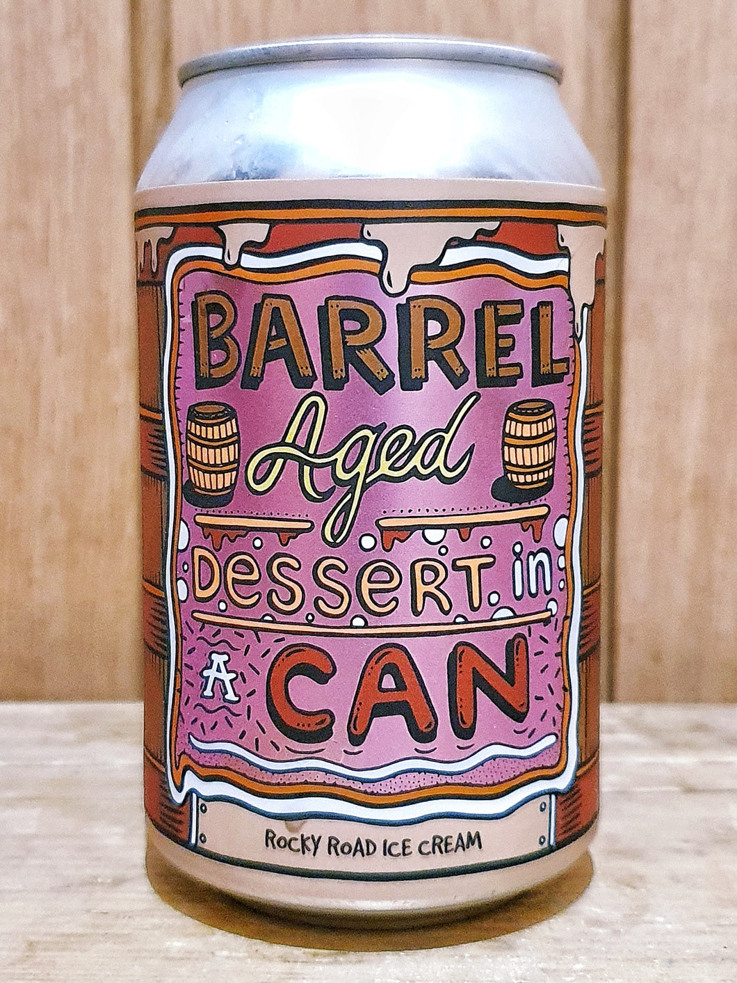 Amundsen -  Barrel Aged Dessert in a Can 'Rocky Road Ice Cream'