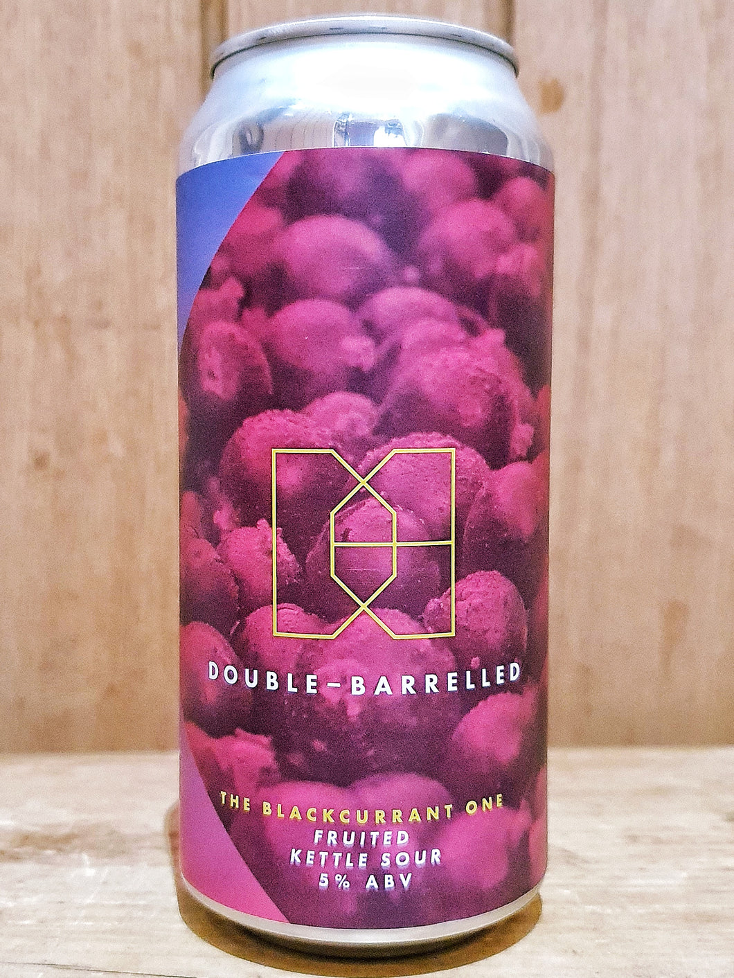 Double Barrelled - The Blackcurrant One