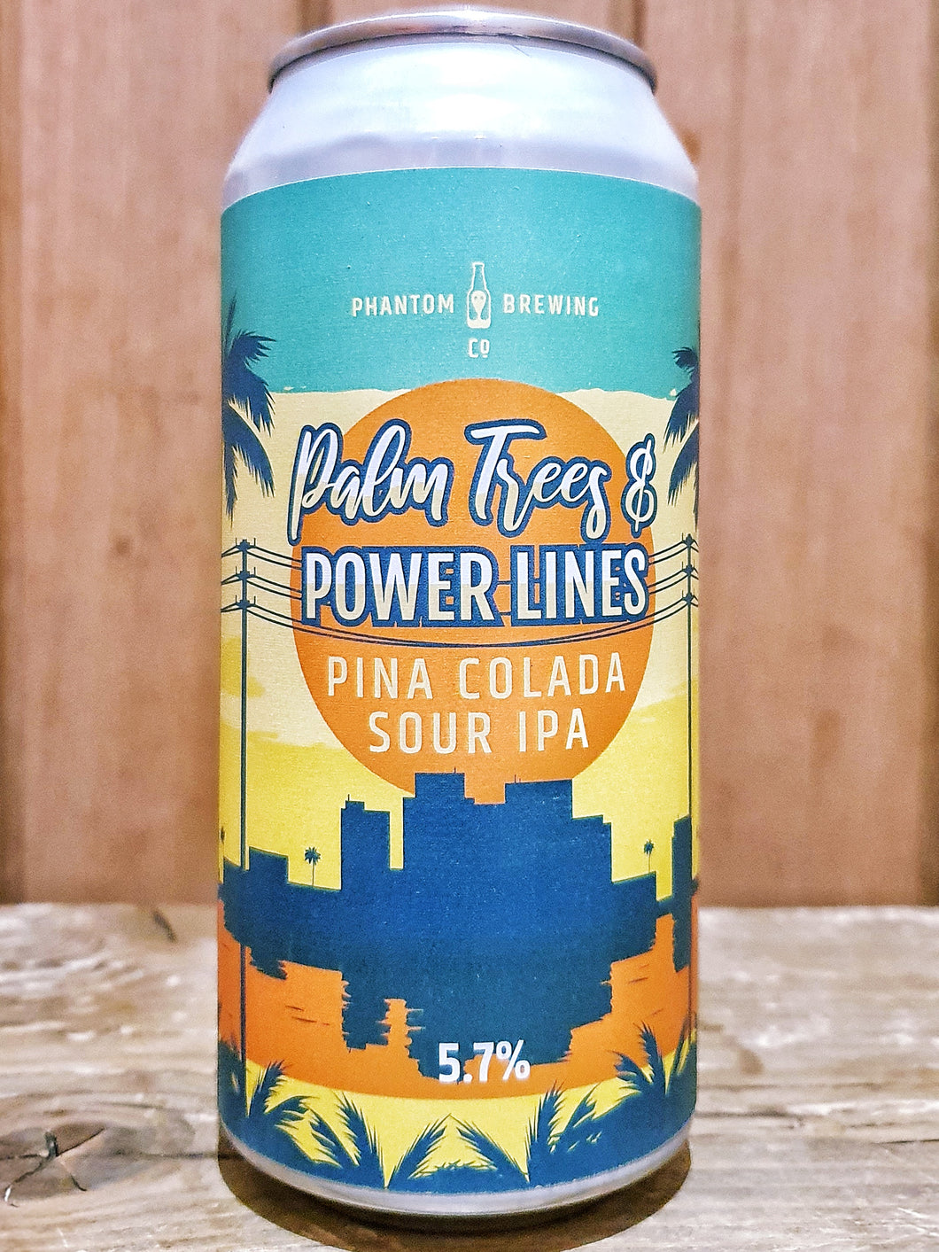 Phantom Brewing Co - Palm Trees and Power Lines