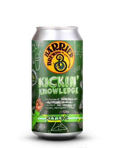 Barrier Brewing - Kickin' Knowledge (Key Lime)