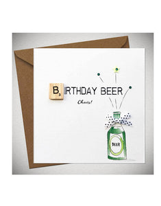 Birthday Card - Birthday Beer